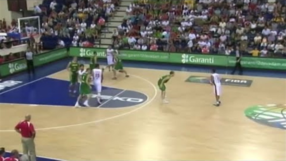 FIBA World Cup 2010 - Lebanon vs Lithuania