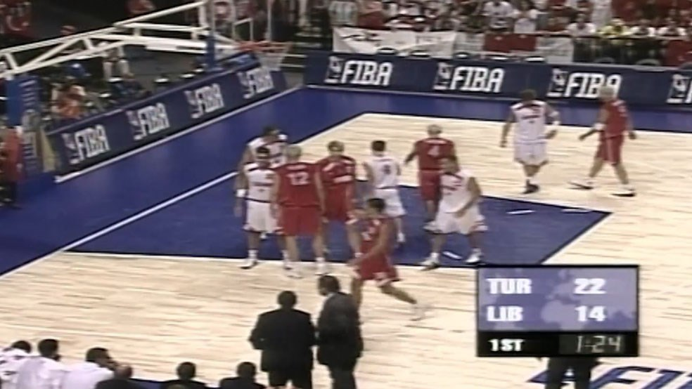 FIBA World Cup 2002 - Lebanon vs Turkey