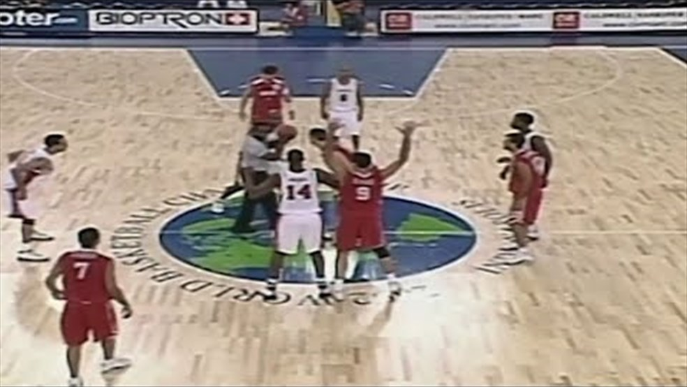FIBA World Cup 2002 - Lebanon vs Canada
