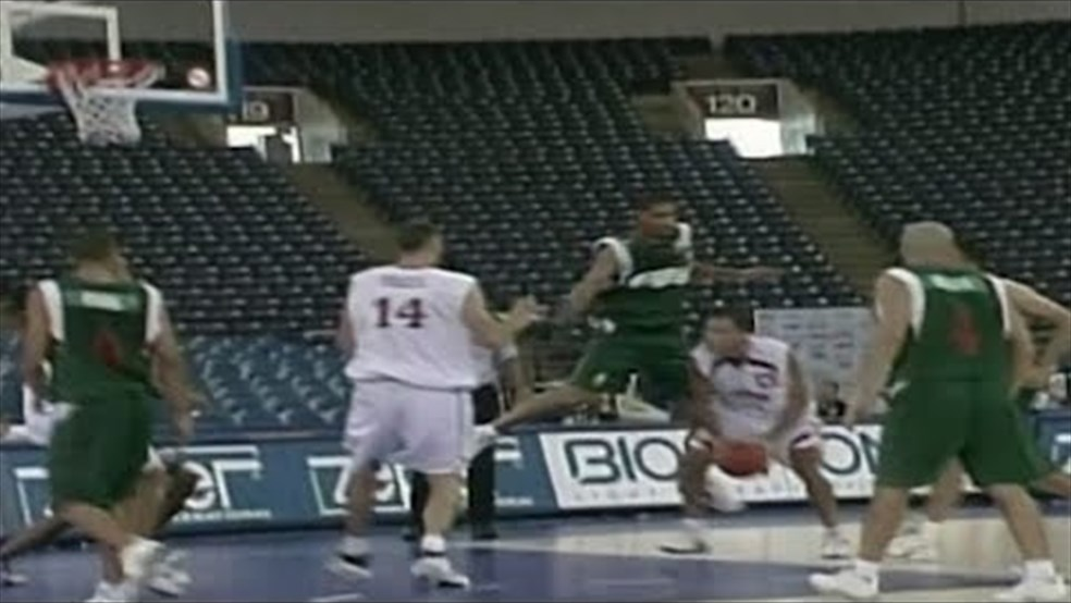 FIBA World Cup 2002 - Lebanon vs Algeria