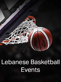 Lebanese Basketball Events